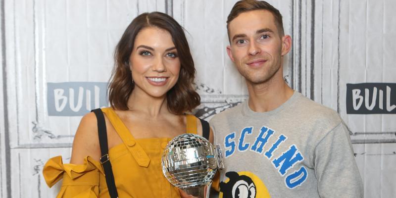 Adam rippon reveals jenna johnson val  chmerkovskiy engagement details hero