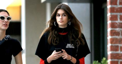 Kaia Gerber Long Legs Tiny Daisy Dukes Shorts Photos hero