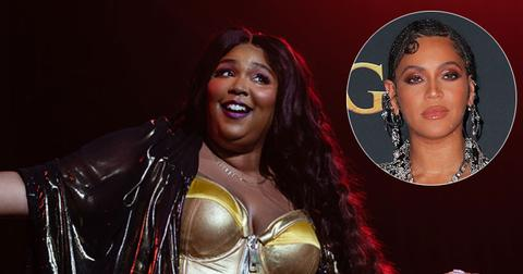 Lizzo Performing And Beyonce Inset Grammy Nominations