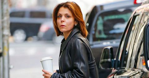 EXCLUSIVE: Bethenny Frankel seen without makeup in SOHO, New York City