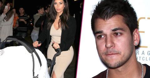 Rob Kardashian Hasn't Visited Saint West
