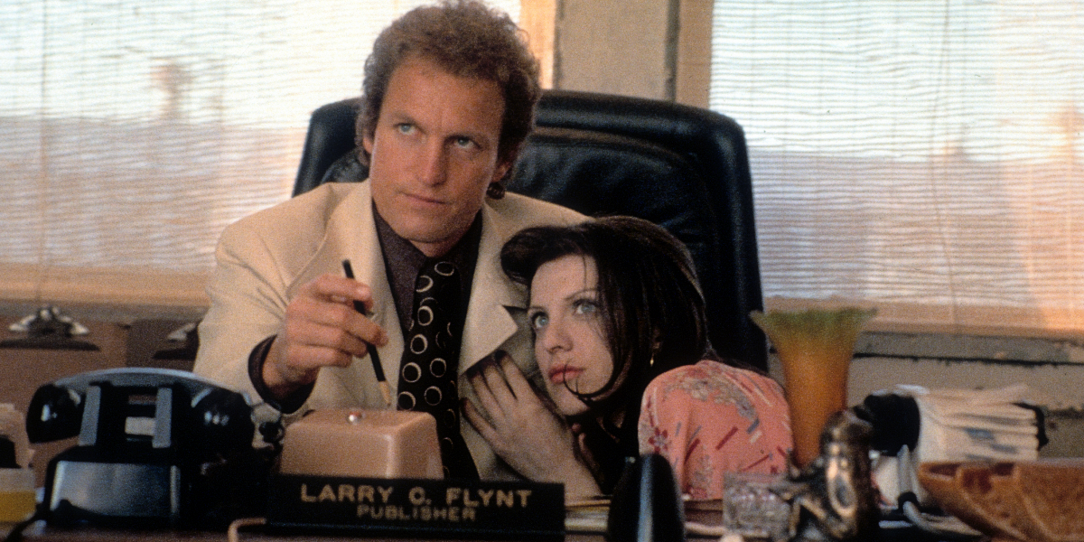 10 Behind-The-Scenes Secrets From 'The People Vs. Larry Flynt'