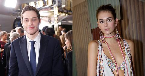 Pete Davidson And Kaia Gerber Date