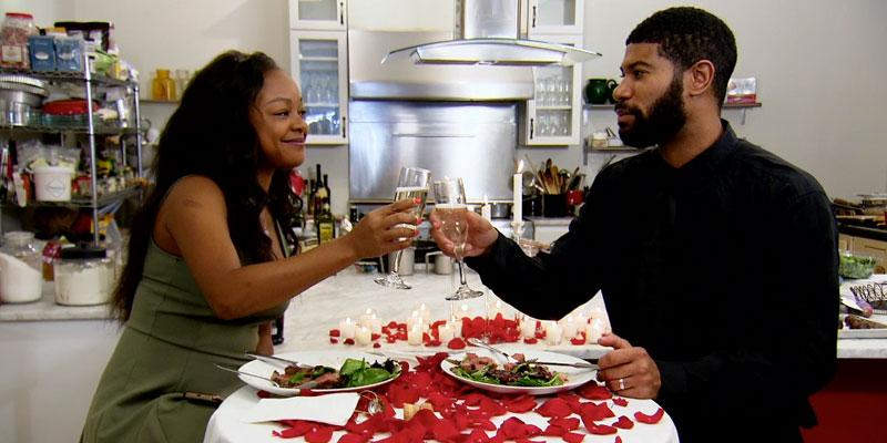 Married at First Sight Keith cooks Kristine dinner