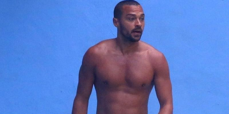 Jesse williams shirtless brazil
