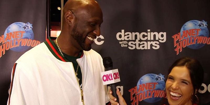 Lamar Odom 'DWTS' Video