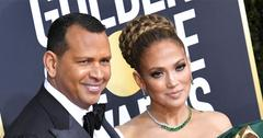 Alex Rodriguez Pens Heartfelt Note To Jennifer Lopez After Her 2020 Golden Globes Loss