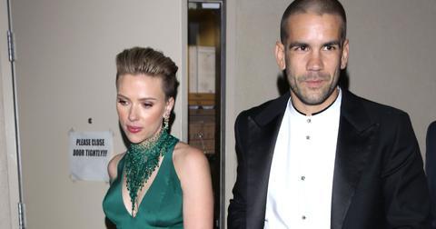 Scarlett Johansson and Romain Dauriac keep the night going after the Oscars
