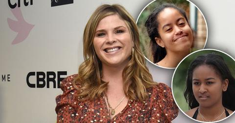 Jenna Bush Hager Posts Pics With The Obama Girls In The White House