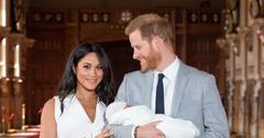 Meghan Markle And Prince Harry Holding Baby Archie