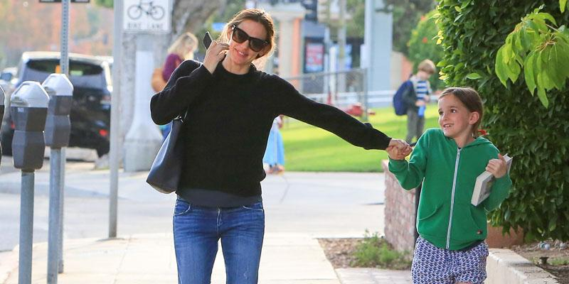 Jennifer garner outing daughter