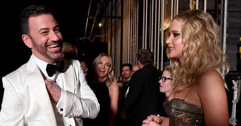 90th Annual Academy Awards – Backstage
