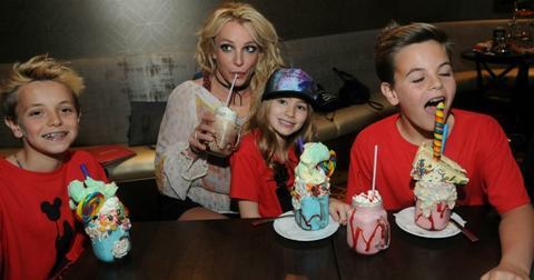 Britney Spears Niece Maddie Aldridge Disney World Long