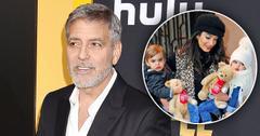 George Amal Clooney Twins PP