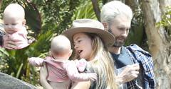 Adam Levine Behati Prinsloo Daughter Dusty Photos Long