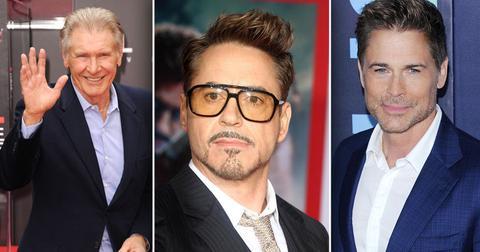 Harrison Ford, Robert Downy Jr, Rob Lowe