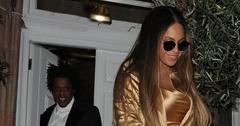 Beyonce & Jay-Z at Harry's Bar in London