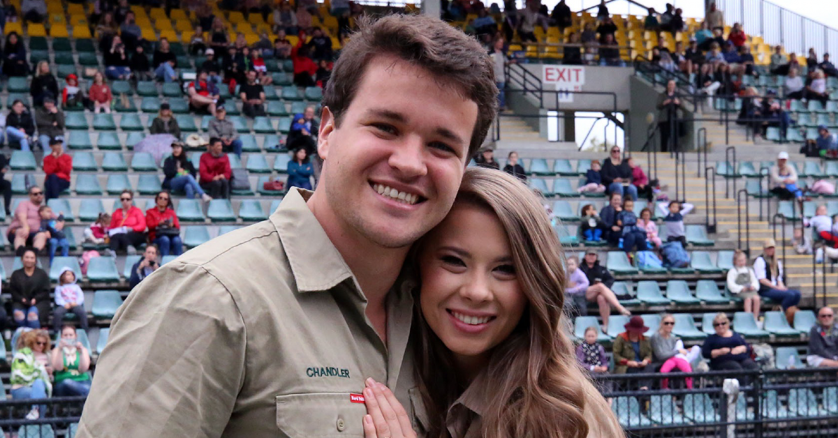 bindi irwin chandler powell get married again