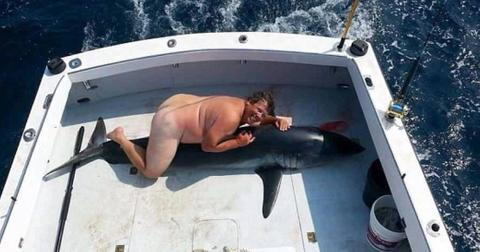 Naked shark humper identity revealed 01
