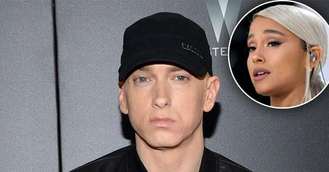 Eminem Responds To Backlash Over Ariana Grande Lyric