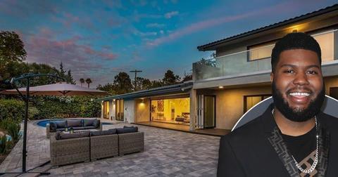 Khalid Lists Encino California Home