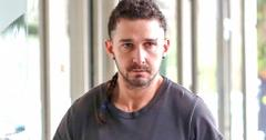 INF – Shia LaBeouf Shows Off His Ponytail & Eyebrow Piercing On Coffee Run In LA