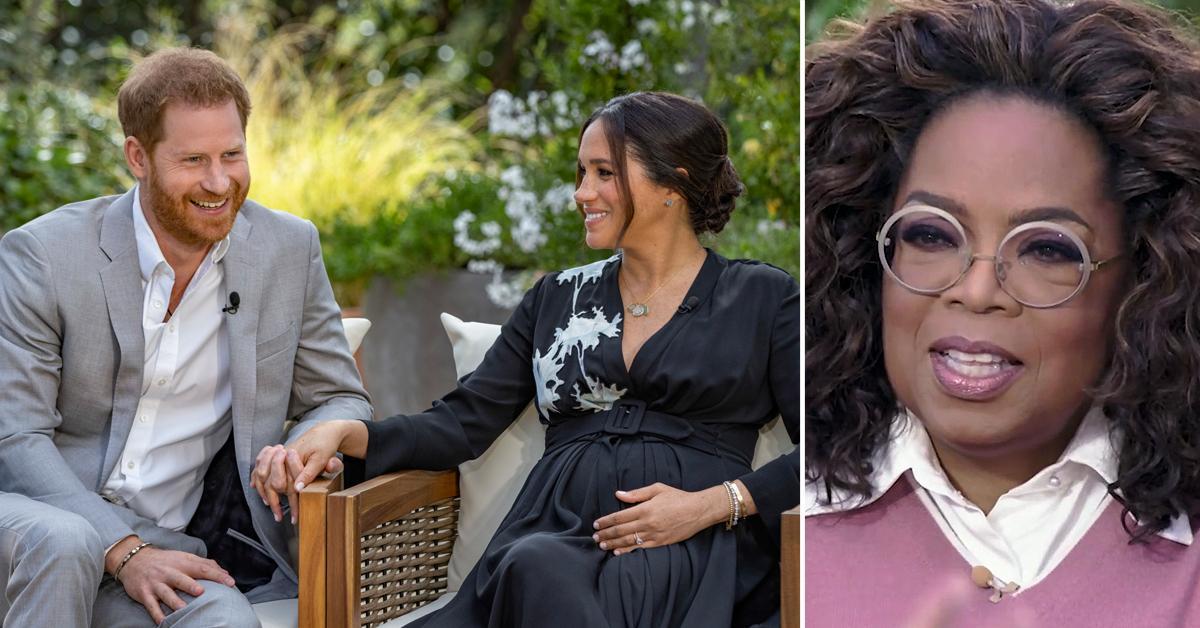 oprah winfrey interview meghan markle prince harry cbs ratings over  million pf