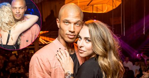 Jeremy Meeks Parties With Girlfriend Chloe Green at a Nightclub in Germany