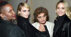 Cara delevingne dianna argon tribeca women filmmaker party pics