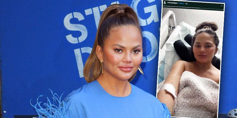 Pregnant [Chrissy Teigen] Gives Update After Receiving Blood Transfusion