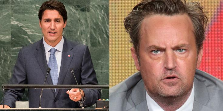 Matthew perry fought justin trudeau