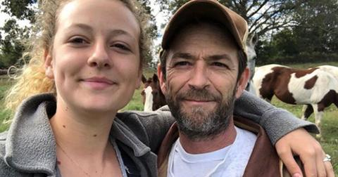 Luke Perry Daughter Speaks Out PP