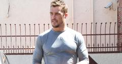 Chris Soules and Witney Carson at the DWTS rehearsal studio