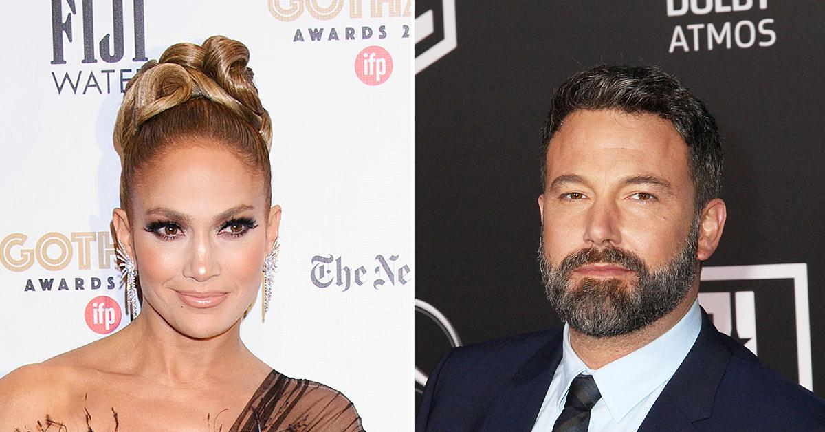 jennifer lopez spotted ben affleck alex rodriguez split