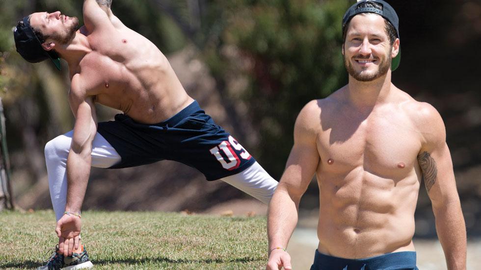 Dwts valentin chmerkovskiy shirtless workout 04