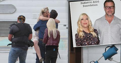 Tori Spelling Dean McDermott Kiss Breakdown