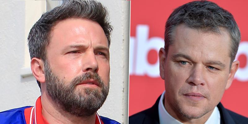 Matt damon dumps best friend ben affleck ppok