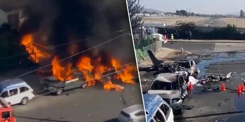 Pilot Killed After Plane Crashes Into California Neighborhood Near Airport