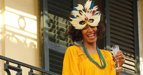 Solange no makeup new orleans