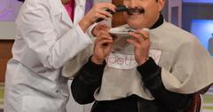 Reza farahan shaves mustache bethenny