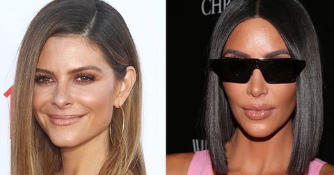 Kim kardashian helping maria menounos with surrogacy