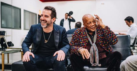 Elmo Lovano and Quincy Jones
