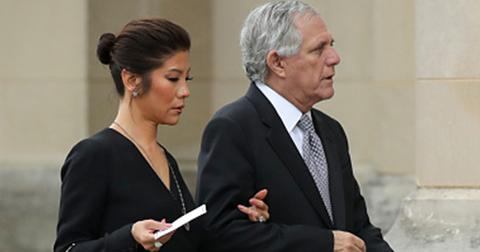 Julie chen leaving the talk after les moonves departure