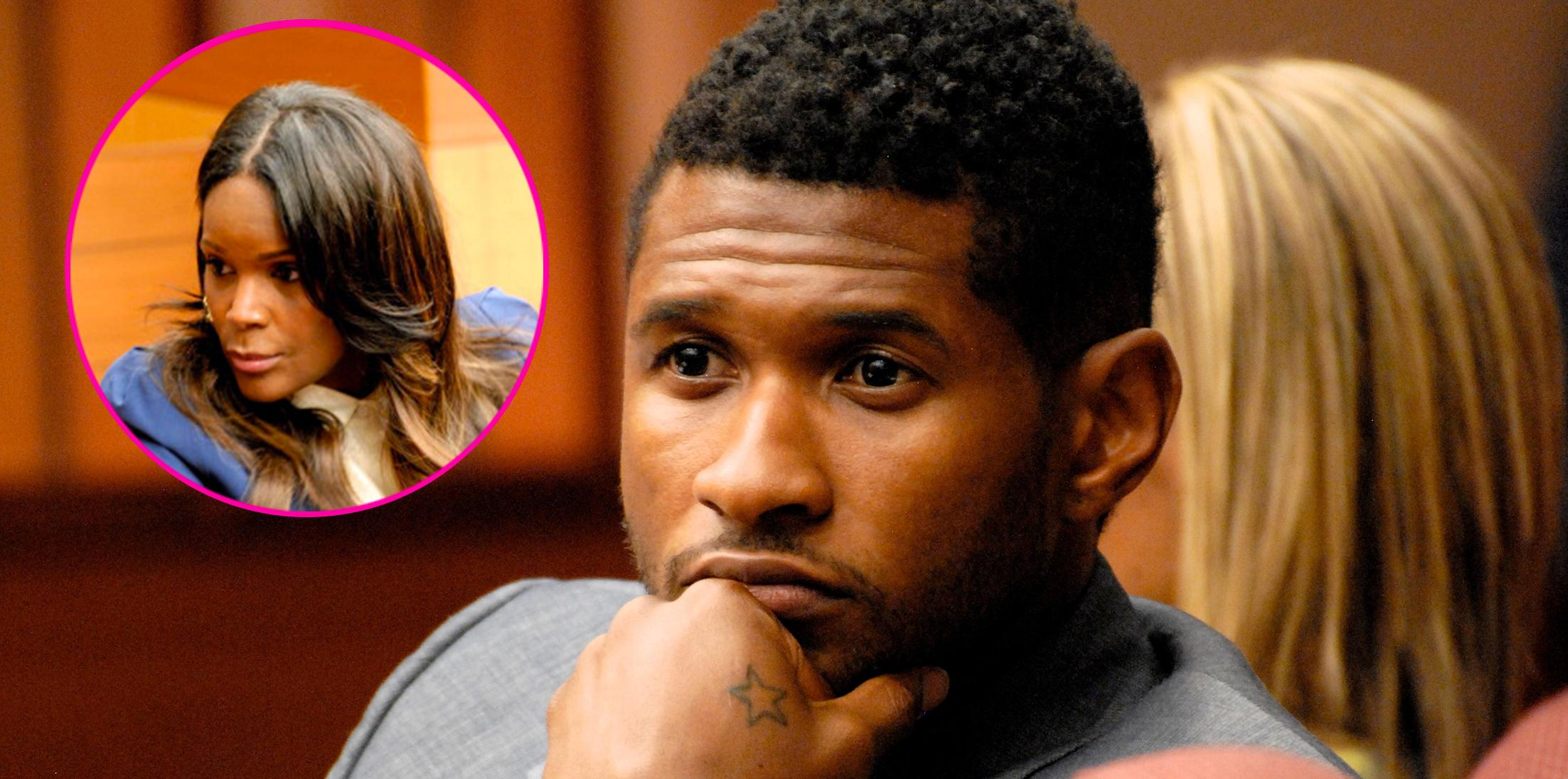 Usher herpes tameka foster feature
