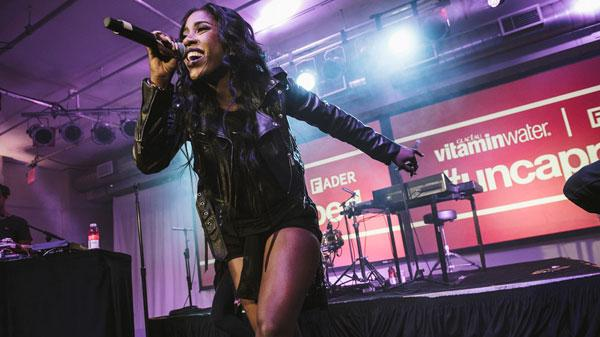 Sevyn Streeter hydrates the hustle for the fifth anniversary of vitaminwater® & The FADER'S–#uncapped concert series by Ryan Muir
