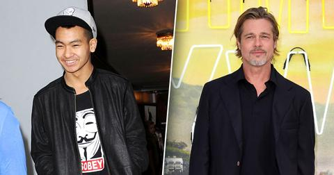 Brad Pitt & Son Maddox