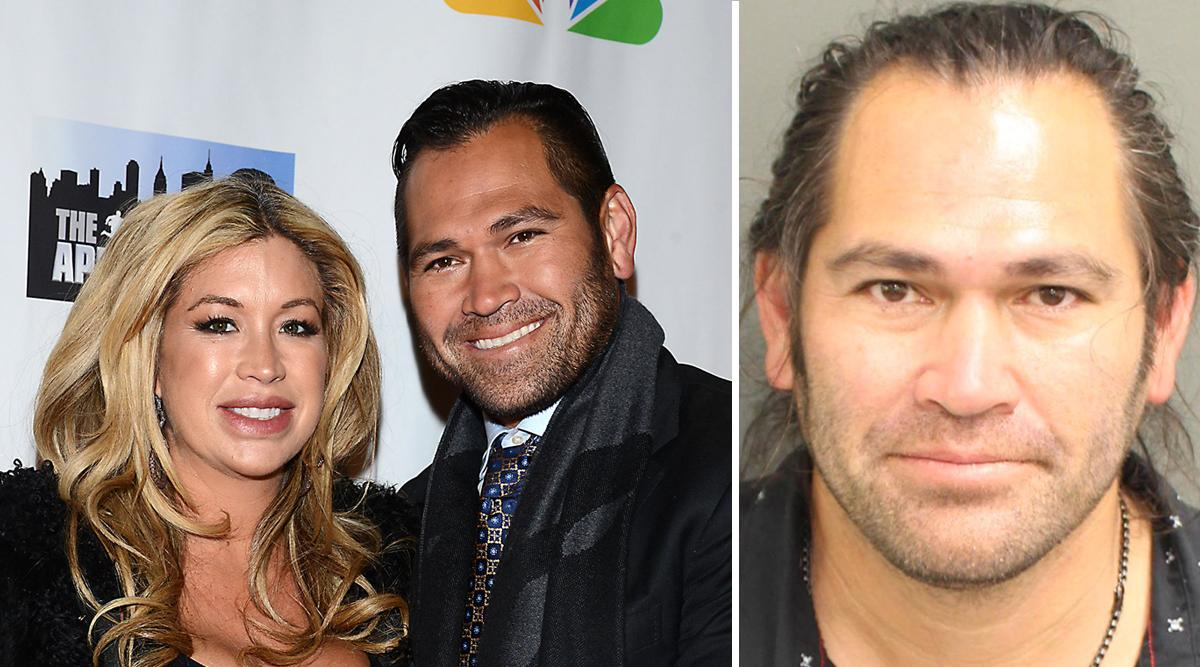 mlb johnny damon arrested dui wife michelle battery police officer pf