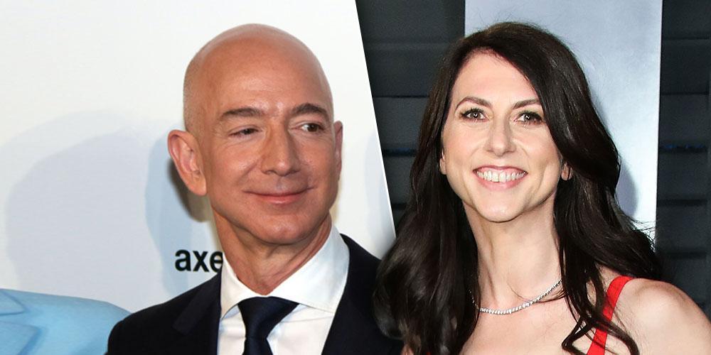 Jeff Bezos split with ex wife MacKenzie Scott