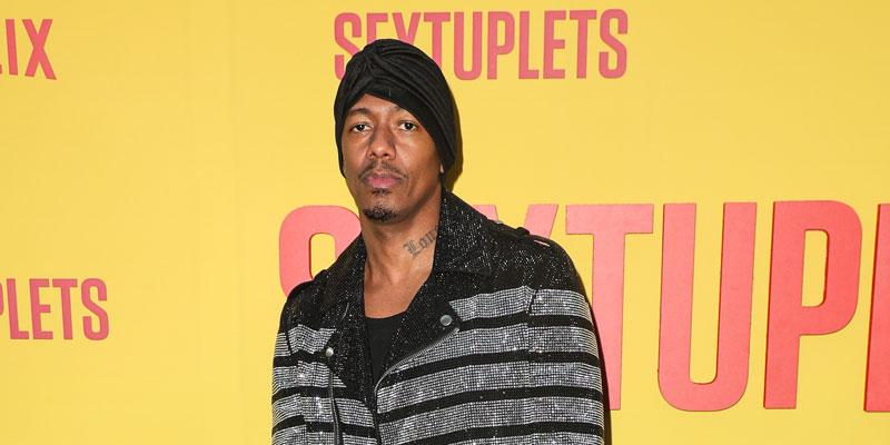 Nick Cannon On Red Carpet