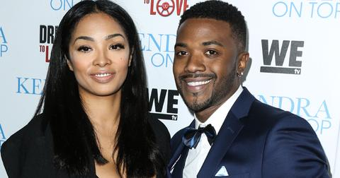 Ray J and fiance Princess Love arrive at the Los Angeles Premiere Of WE tv's 'Kendra On Top' And 'Driven To Love'